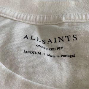 All Saints medium oversized fit tee